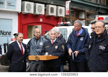 Commissioner Bratton at press conference
