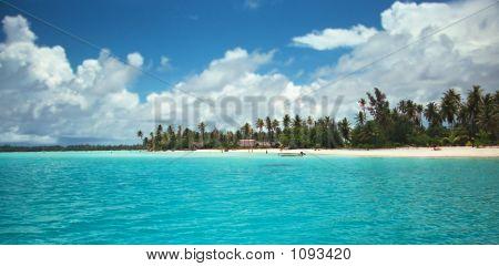 Beach Front In Bora Bora