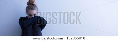 Despair Lonely Teenager