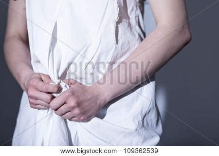 Helpless Rape Victim