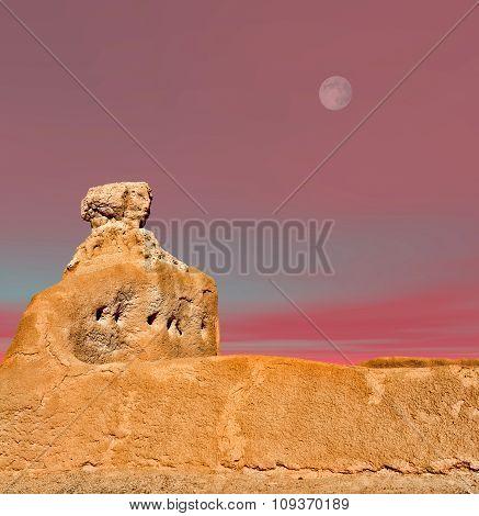 Casa Grande Ruins Moon
