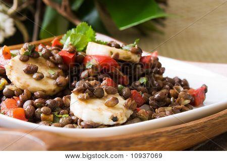 Bananas Lentils Salad