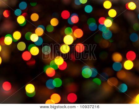 Color Blurred Light Background
