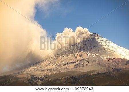 Cotopaxi Volcano, Equatorial Glacier