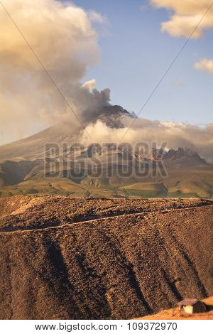 Cotopaxi Volcano Powerful Day Explosion