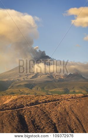 Cotopaxi Day Explosion