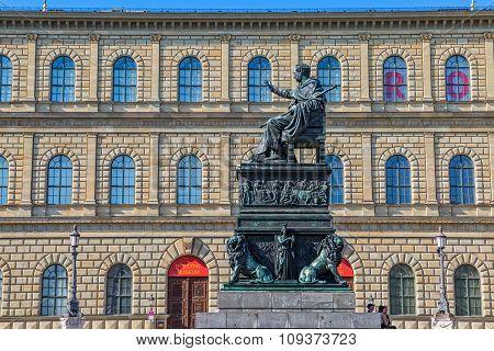 Munich Max Joseph Platz