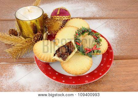 Sweet Christmas Mince Pies
