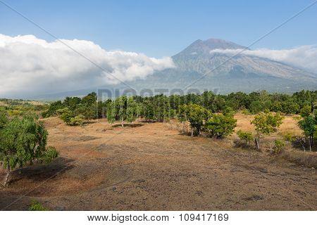 View Of Agung Volcano, Bali