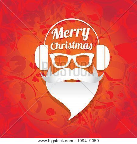 Christmas santa claus beard