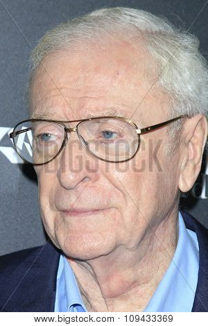 LOS ANGELES - NOV 17:  Michael Caine at the