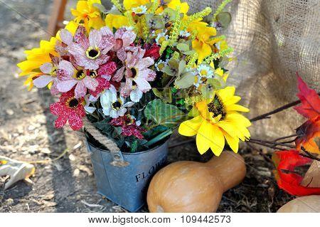 Autumn Bouquet, colorful autumn decoration