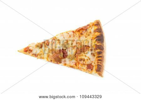 Slice Piece Of Pizza Isolate Background