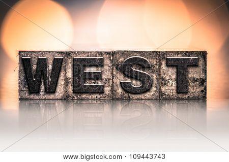 West Concept Vintage Letterpress Type