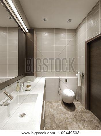 Bathroom Contemporary Style