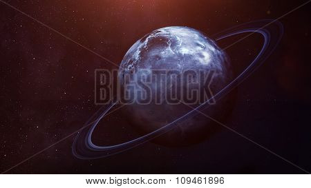 Uranus - High resolution best quality solar system planet. All the planets available. This image ele