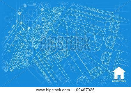 Vector architect background