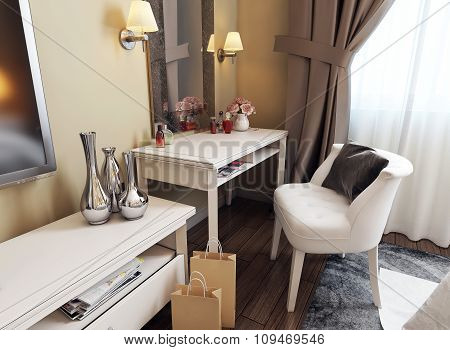 Dressing Table Neoclassicism Style