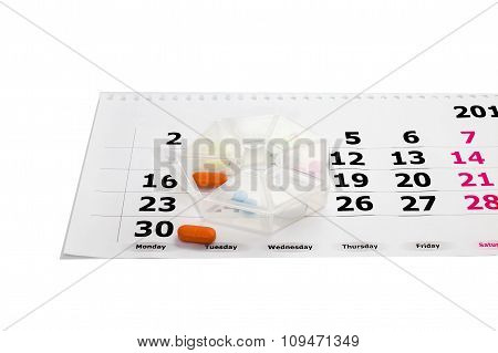 Planning daily reception of medicines
