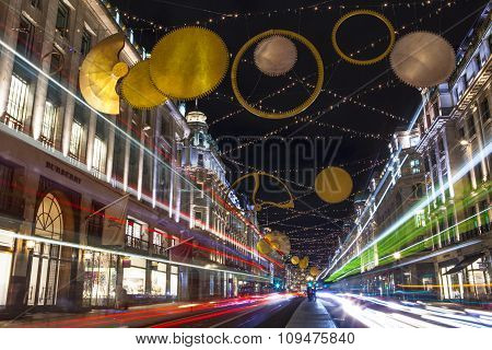 Regent Street Christmas Lights 2015