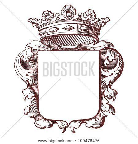 Vintage Royal Emblem