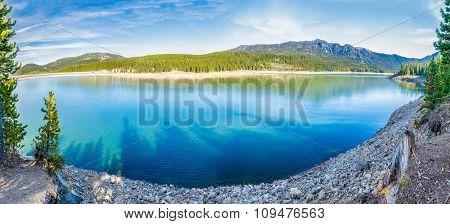 Hyalite Canyon Reservoir