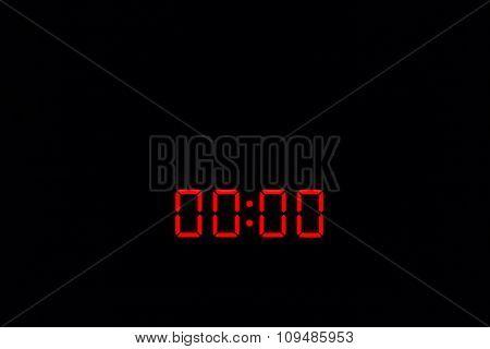 Digital Watch 00:00