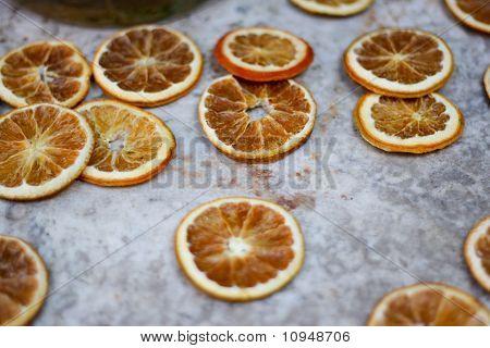 Dried orange fruit