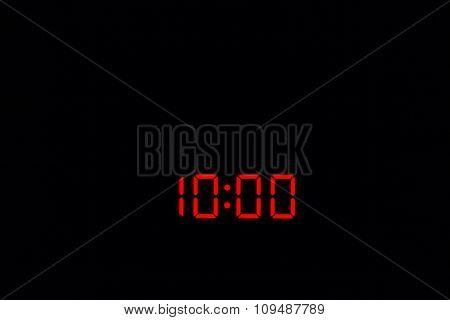 Digital Watch 10:00