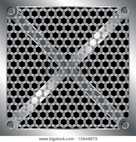Metallische Gitter