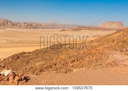 Mountains In The Sinai Desert