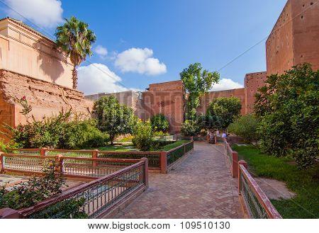 Treasury In The Marrakech Medina