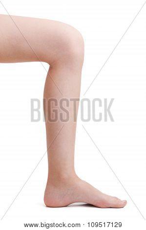 Leg Bent At The Knee