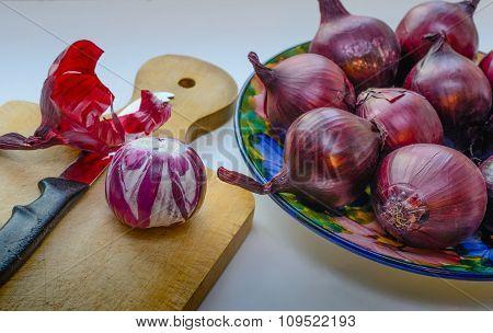 Red Onions - Salad Onions.