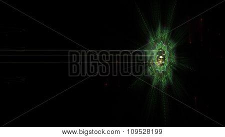 Alien Space Beam