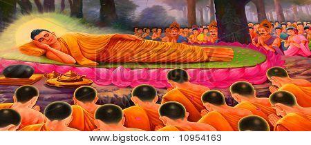 Buddhist Mural