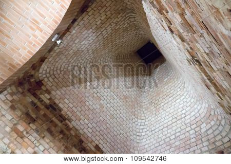 Brick Flue From Within