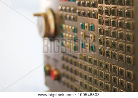 Cnc Operator Keypad