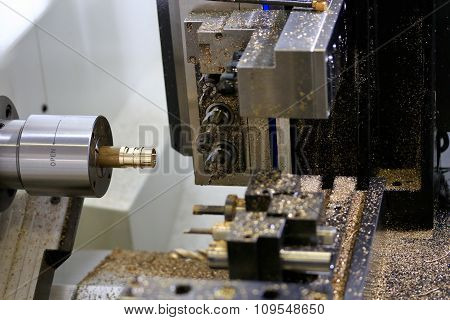 Cnc Turning Milling Machine Center