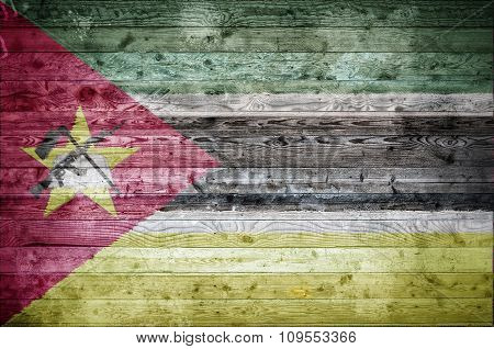 Wooden Boards Mozambique
