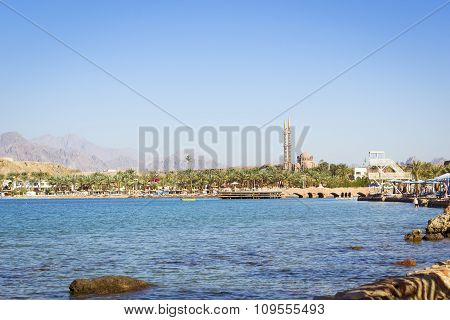 February Day On The Beach In Sharm El Sheikh