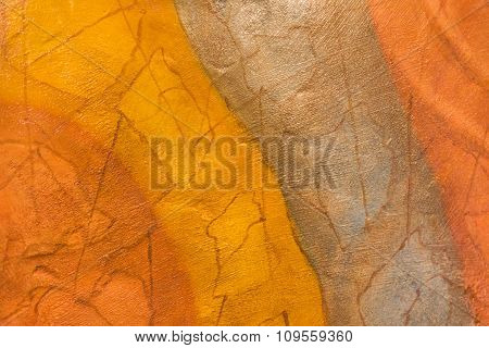 Colorful Abstract Background Earth Tones