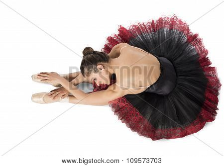 Warmup classical dancer