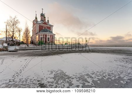 church and ice