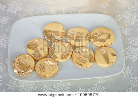 Golden cookies