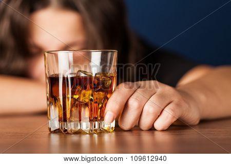 Alcoholism.