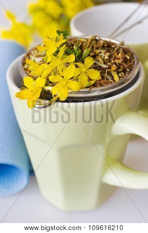Common St. John's Wort Tea - Hypericum Perforatum