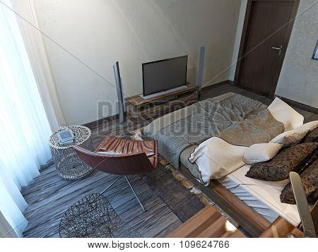 Bedroom Techno Style
