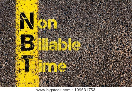 Business Acronym Nbt As Non Billable Time