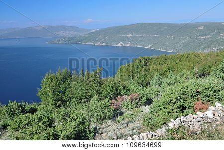 Coastal Landscape,Cres Island,Croatia